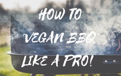 Het vegan BBQ seizoen has started!