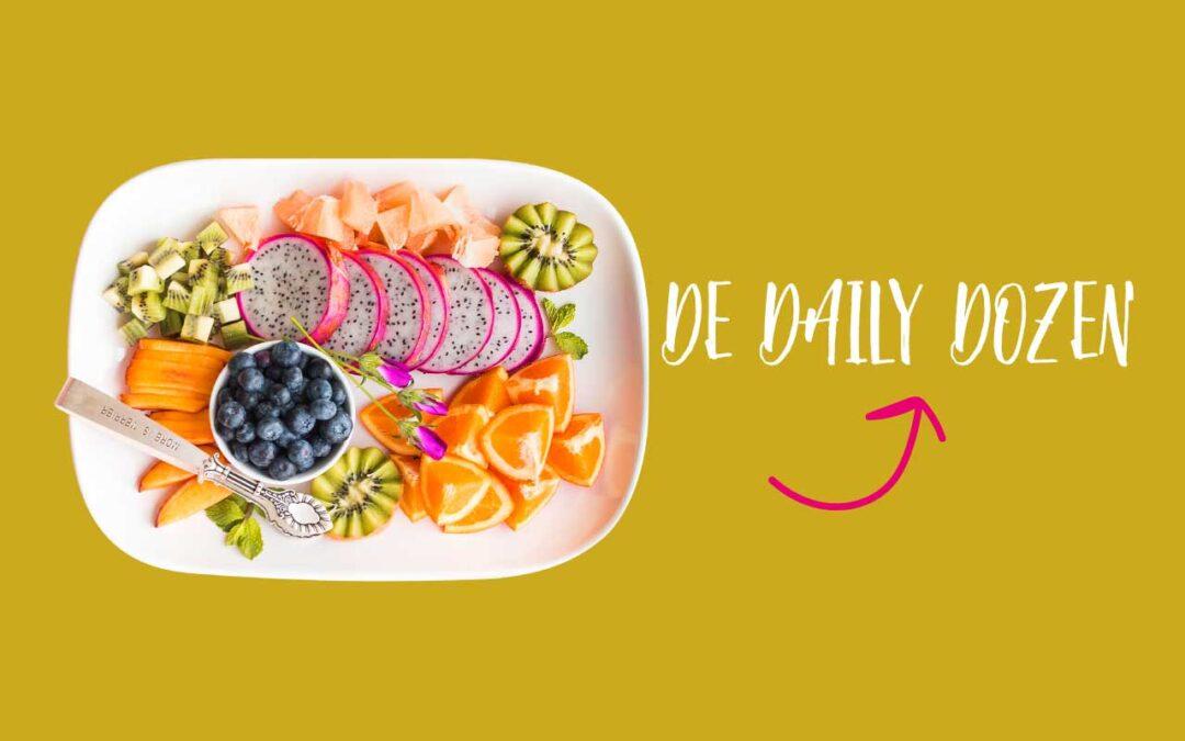De 'Daily Dozen': een lijst met voedingsmiddelen samengesteld waarbij jouw gezondheid optimaal ondersteund word.